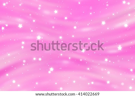 Abstract pink elegant background with glitter and waves - stock photo