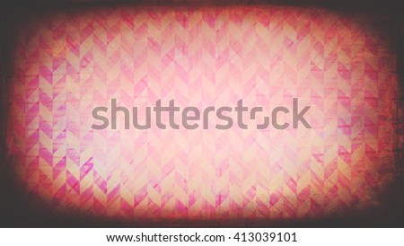 Abstract pink pattern with grungy texture overlay - stock photo
