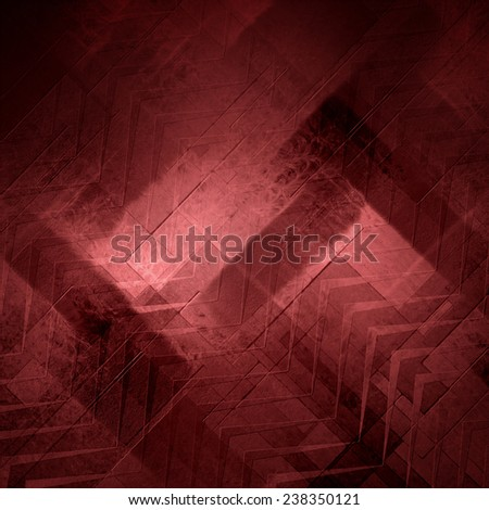 Abstract pink red background, stripes and abstract diagonal shapes in random pattern, chevron or zig zag style stripes design element, marsala wine color - stock photo