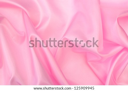 Abstract pink silk