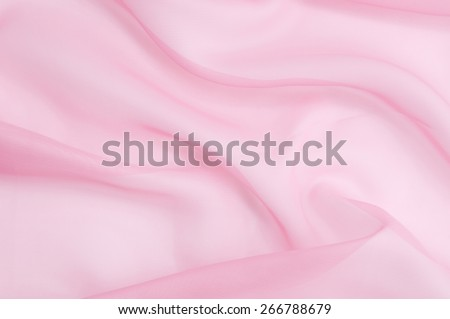 Abstract pink soft chiffon texture background.Macro with extremely shallow dof. - stock photo