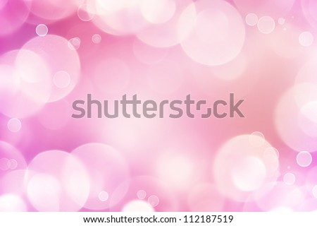 Abstract pink tone lights background - stock photo