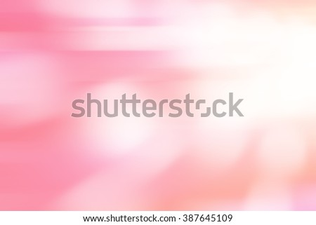 Abstract pink tone lights background. Blurred background. Soft background. - stock photo