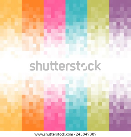 Abstract pixel background. - stock photo