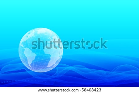 abstract Planet Earth background