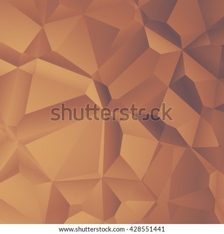 abstract polygonal background - stock photo