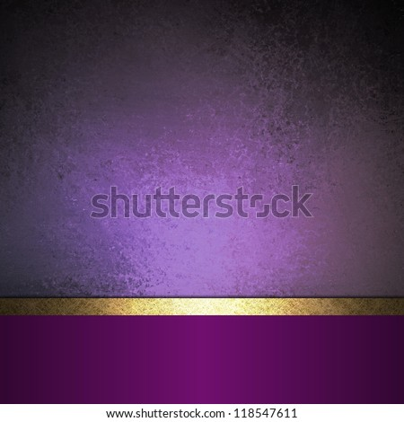 Abstract Purple Background Black Design With Vintage Grunge Texture Paper Wallpaper For Brochure Or