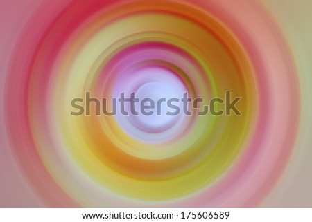 Abstract radial blur background