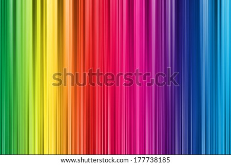 Abstract Rainbow Background  - stock photo
