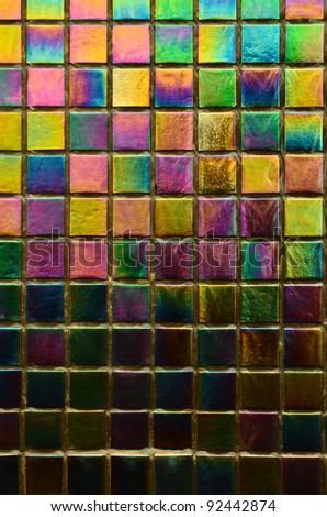Abstract rainbow background - stock photo
