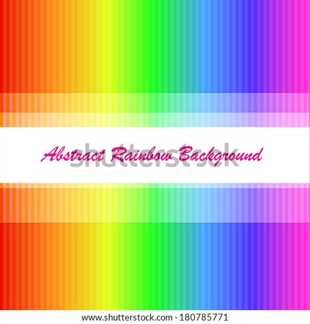 Abstract rainbow background with the many strips