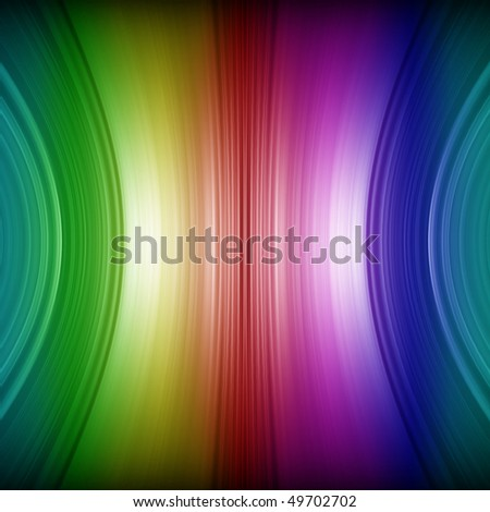 Abstract rainbow colors background - stock photo