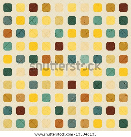 Abstract raster retro vintage background
