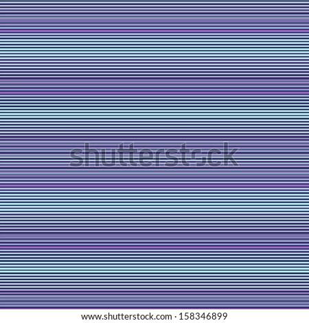 Abstract raster seamless pattern. Meditative lilac and blue horizontal stripes. - stock photo