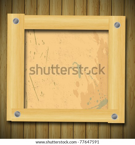 abstract raster wood background - stock photo
