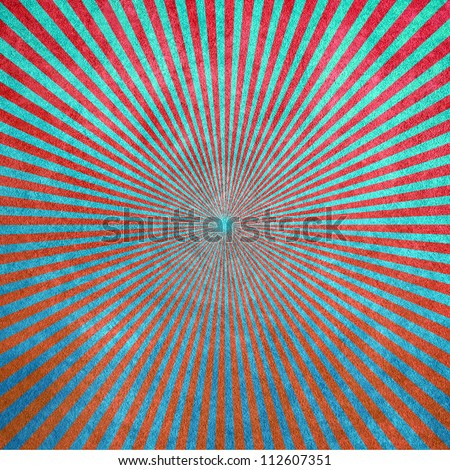 abstract rays pattern - stock photo