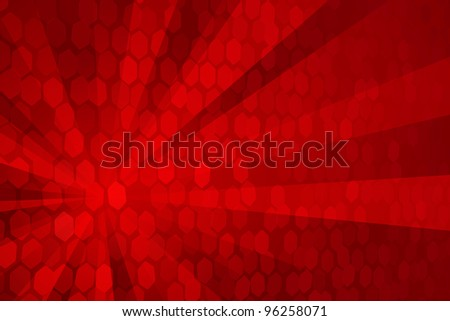 Abstract Red - stock photo