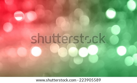 Abstract red and green christmas background. - stock photo
