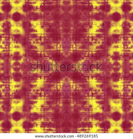 Abstract red and yellow blurred digital background. Abstract colorful pattern.
