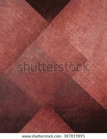 abstract red background - stock photo