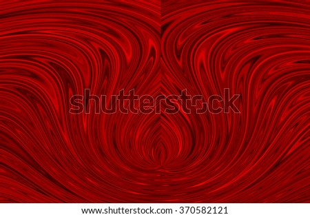 Abstract red background as a flower
