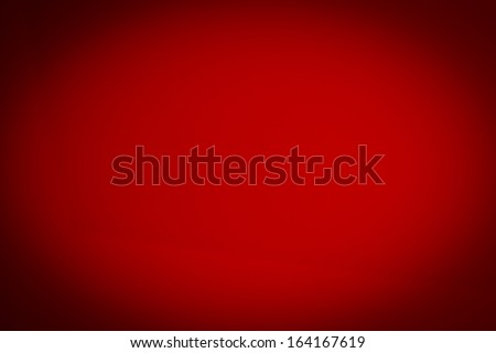 abstract red background Christmas color classic,light corner spotlight, black border frame of vintage grunge background texture - stock photo