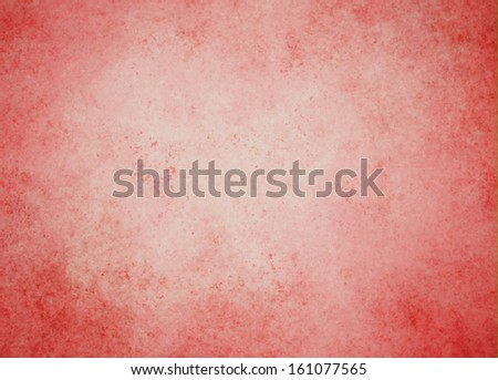 abstract red background Christmas color white center dark frame, soft faded sponge vintage grunge background texture design, graphic art use in product design web template brochure ad, pink paper  - stock photo