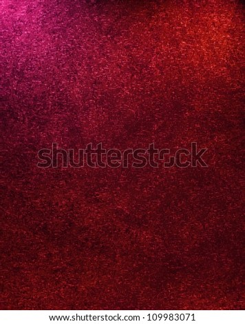 abstract red background Christmas illustration design with elegant dark red vintage grunge background texture frame on border with lighting and empty blank copyspace for web or brochure template - stock photo