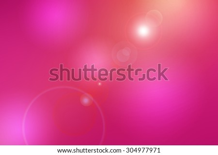 abstract red background , gradient color with lens flare - stock photo