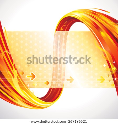 Abstract red background of technology connections. - stock photo