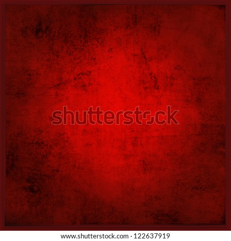 Abstract Red Background or Christmas Paper - stock photo