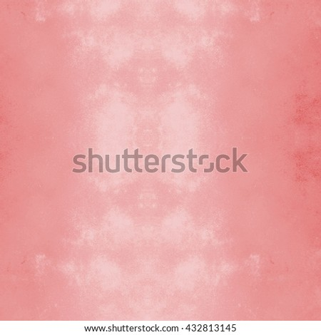 abstract red background or Christmas paper with bright center spotlight and black vignette border frame with vintage grunge background texture black paper layout design of light red graphic art - stock photo