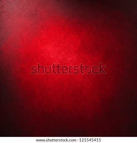 abstract red background or red paper, black vintage grunge background texture design, beautiful solid background for graphic art or website template backdrop, Christmas background, old distressed - stock photo