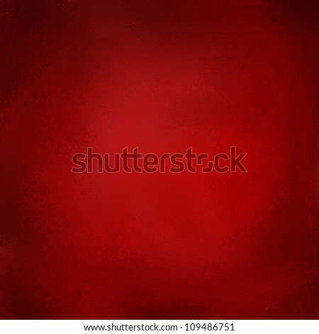 abstract red background paper design with vintage grunge background texture on frame border and black vignette grungy sponge illustration for website template or elegant Christmas brochure, solid red - stock photo