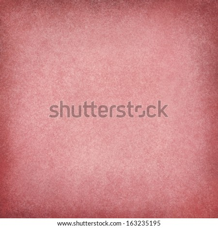 abstract red background, soft Christmas color image for use in brochure ads or web design backgrounds, faint vintage grunge background texture and darker border with light blank center for text - stock photo