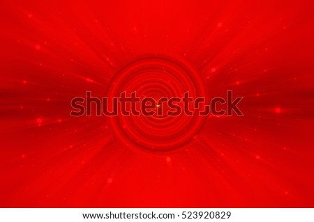 Abstract red background spirals and galaxy. motion illustration.