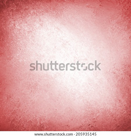 abstract red background white center design with rough red edge border grunge, bright pink red color, rough distressed texture background, red grunge paint wall - stock photo