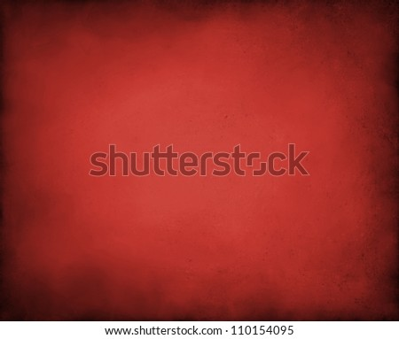abstract red background with black vintage grunge background texture design of distressed dark gradient on border frame with red spotlight, red paper for brochure or Christmas background layout - stock photo