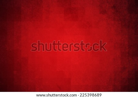 Abstract red background with bright center spotlight may use for background or Christmas background. - stock photo