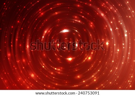 abstract red background with scintillating circles and gloss for background - stock photo