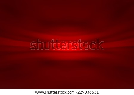 abstract red background with the fractal horizon - stock photo