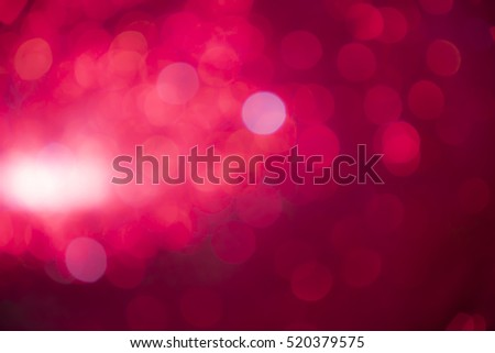 abstract red bokeh defocused lights background