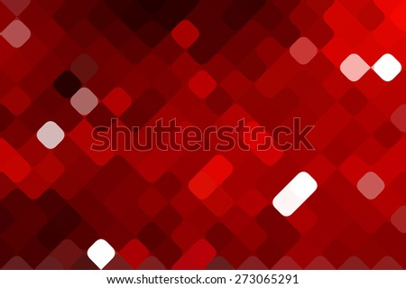 Abstract red creative background - stock photo