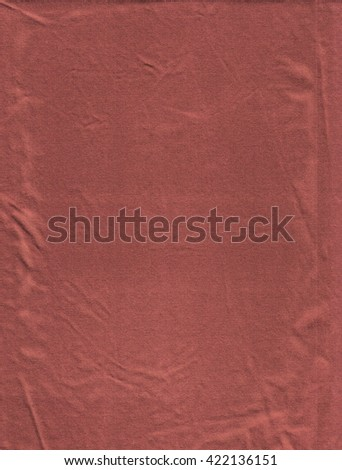 Abstract red fabric background. - stock photo