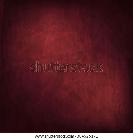 Abstract red grunge background - stock photo