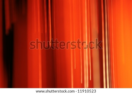 Abstract red lines - stock photo