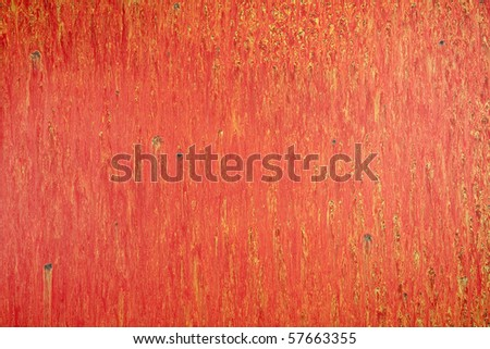 Abstract red paint background - stock photo