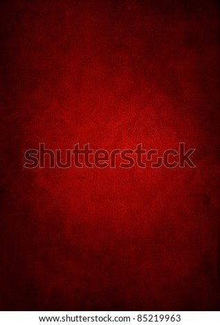 Abstract red wallpaper - stock photo