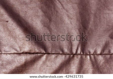 Abstract red waterproof textile texture. Background and texture for design. - stock photo