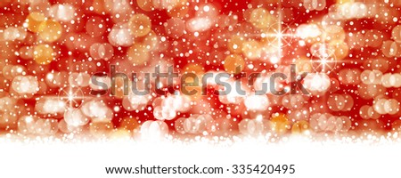Abstract red white background with blurry lights and light effects that give it a magical feeling as a backdrop for the Christmas season or any festive occasion. - stock photo